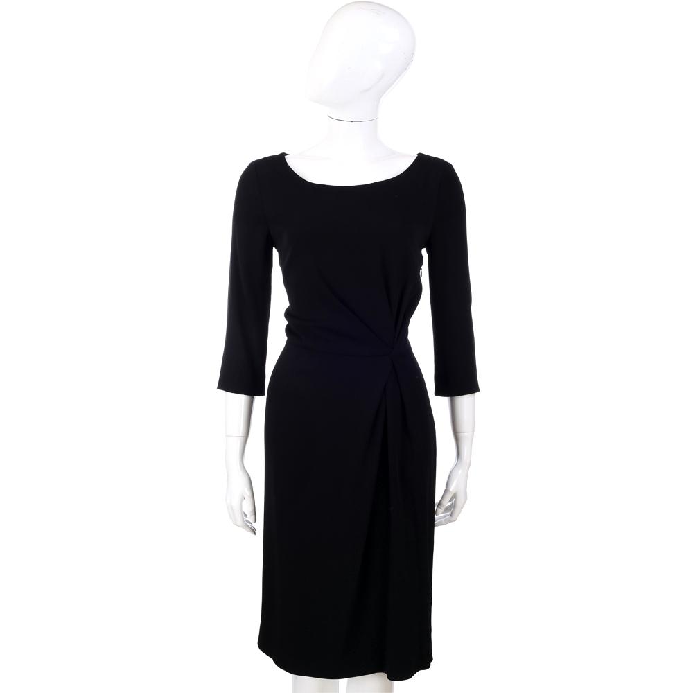 PHILOSOPHY-AF 黑色七分袖洋裝
