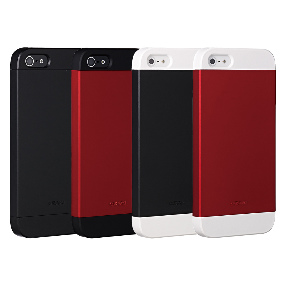 Ozaki O!Coat Wardrobe+ IPHONE 5/5S/SE 三重奏滑入式手機殼
