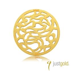 鎮金店Just Gold 金幣-花開富貴金幣(龍)