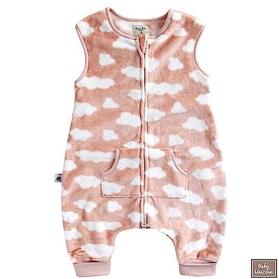 Baby unicorn 粉白雲朵絨毛防踢睡袋