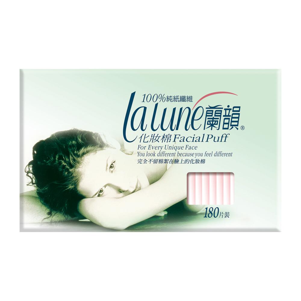 蘭韻 紙纖化妝棉 180片x3盒