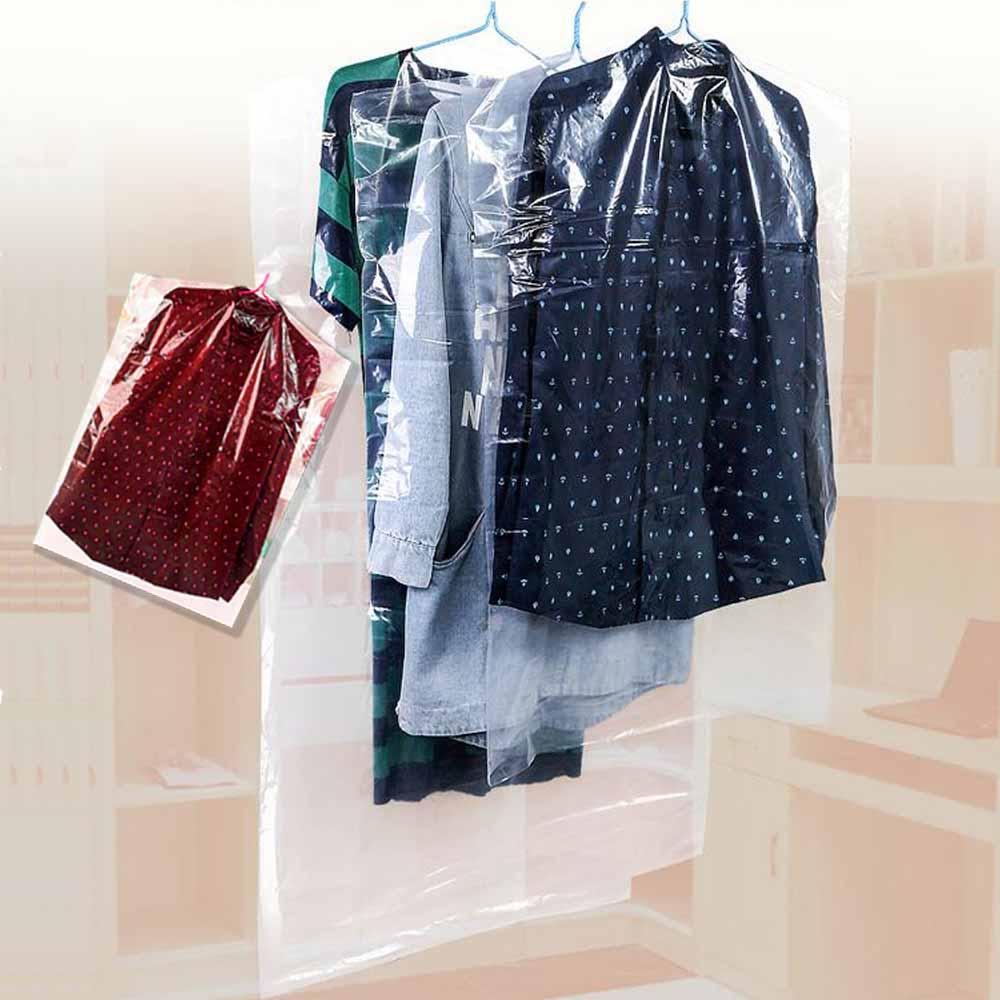 lisan衣服防塵套/衣物套-80件組(家庭號)