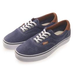 (男)VANS Era 59 經典素色休閒鞋*藍色
