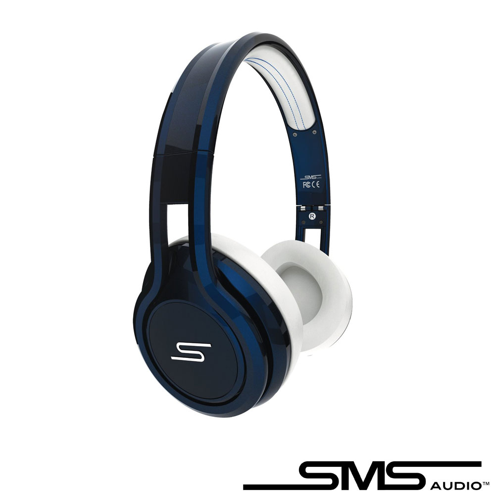 SMS STREET by 50 On-Ear Wired 彩色限量款耳罩式耳機(紳士藍)