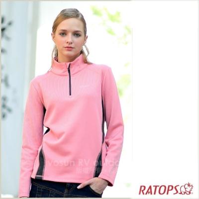 【瑞多仕】女款 Thermolite 長袖保暖衣_DB5908 胭脂粉色 V1