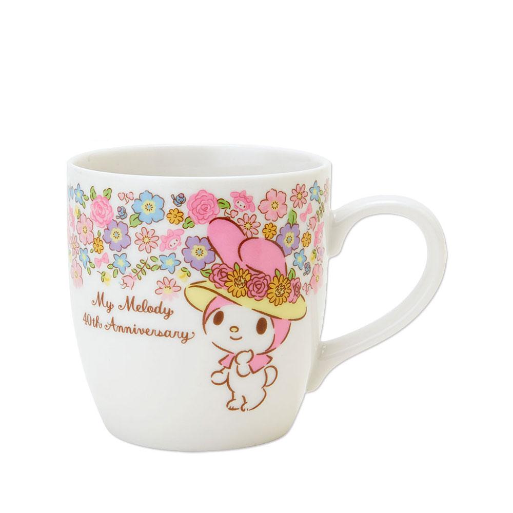 Sanrio美樂蒂40周年紀念陶磁馬克杯花帽