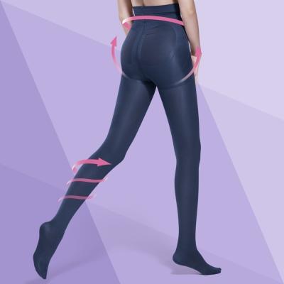 Bast-芭絲媞-塑身-纖柔極塑美腿襪-魅夜藍