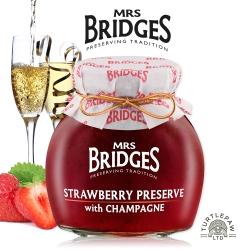 MRS. BRIDGES 英橋夫人草莓香檳果醬(大)340g