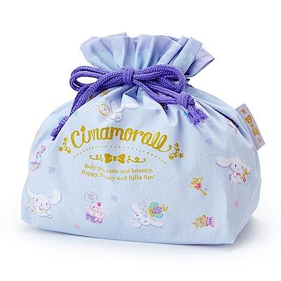 Sanrio 大耳狗喜拿日本製棉質縮口便當袋(幸福午茶)