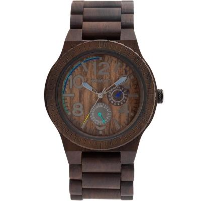 WEWOOD 義大利木頭錶 KARDO CHOCOLATE-玫瑰木/45mm