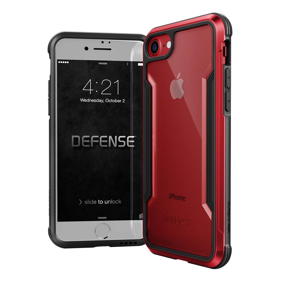 DEFENSE刀鋒極盾II iPhone 8 iPhone 7耐撞擊手機殼豔情紅