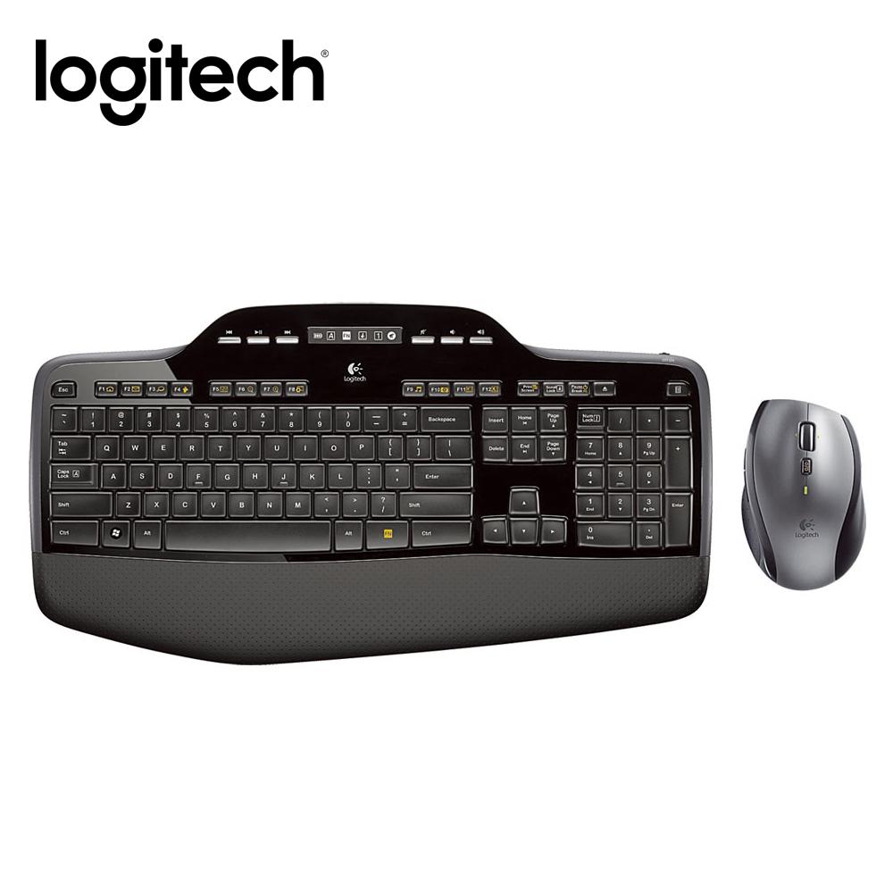 羅技 Unifying無線鍵盤滑鼠組-MK710