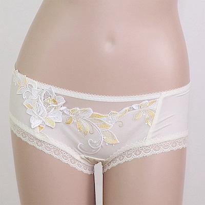 莎露 愛慕系列M-L 中低腰平口褲(白)