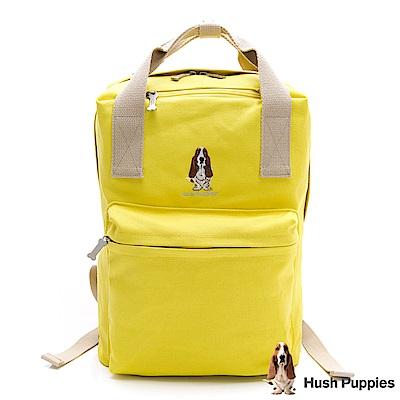 Hush Puppies 粉彩後背包-黃色