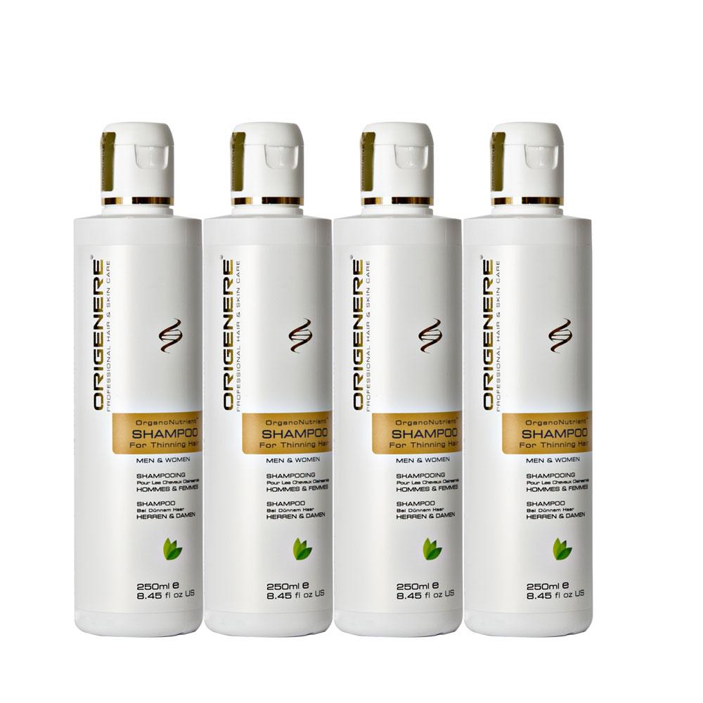 Origenere歐麗淨 SR鋸棕櫚養髮洗髮精250ml*4