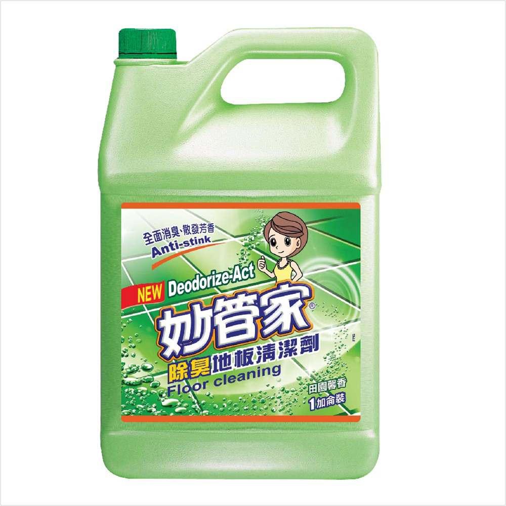 妙管家-地板清潔劑((寵物/浴廁地板專用)4000g