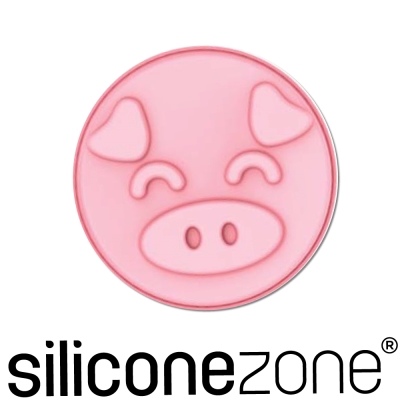 Siliconezone施理康耐熱粉紅小豬8吋造型大蛋糕模