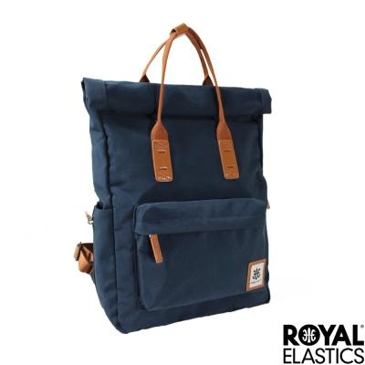 Royal Elastics - 捲蓋式小型後背包 - Rainbow彩虹甜心- 深藍