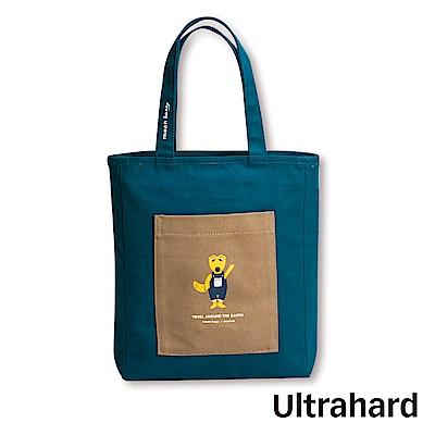 Ultrahard 月見兔閱讀書袋-狐狸(藍褐)
