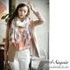 A-Surpriz 歐洲圖畫風情巴黎紗圍巾(