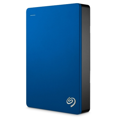 Seagate 4TB Backup Plus行動硬碟-藍色
