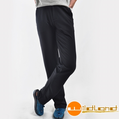 Wildland 荒野 0A22306-54黑色 男 彈性保暖長褲