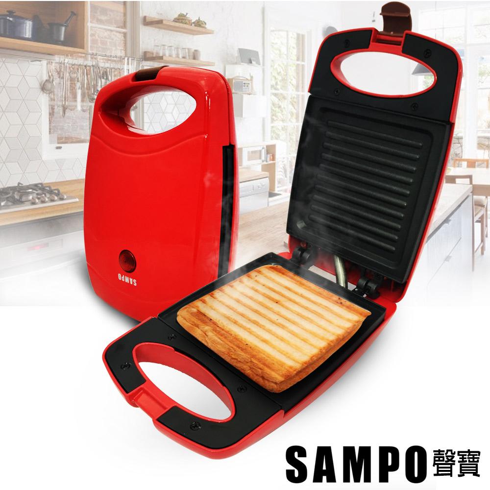 聲寶SAMPO 烤吐司三明治機 TG-B1602L-快