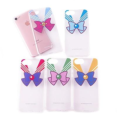 美少女戰士 iPhone 6s/7/8(4.7吋)共用 雙料保護殼套_蝴蝶結
