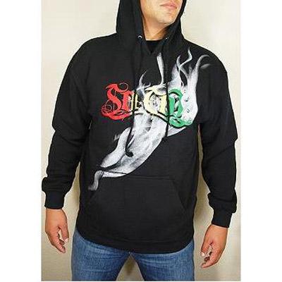 [摩達客]美國進口【So Cal】冒煙黑色設計連帽T恤
