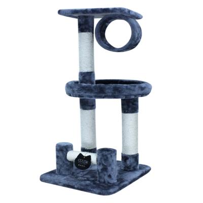 Doter寵愛物語 馬戲團貓跳台 全貓用 鐵灰色 x 1入