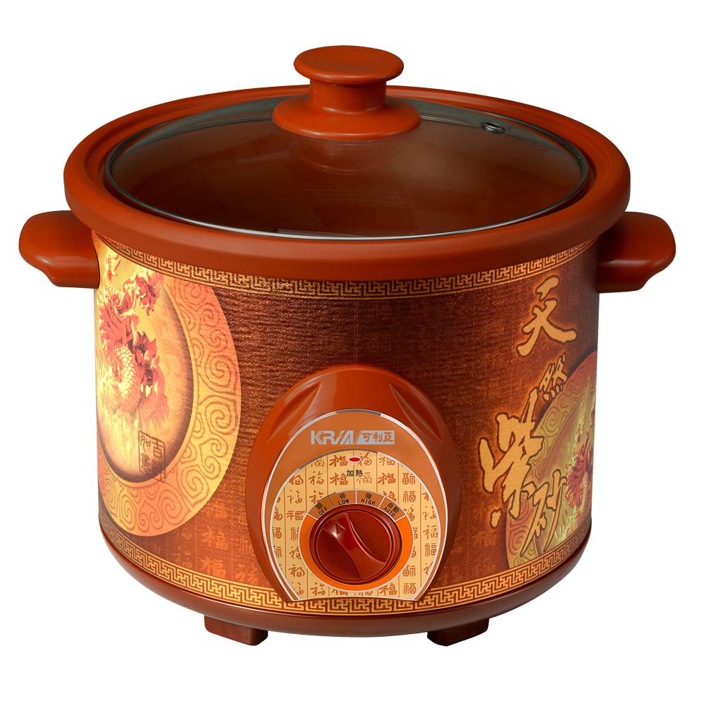 可利亞4L紫砂養生燉鍋KR-40D