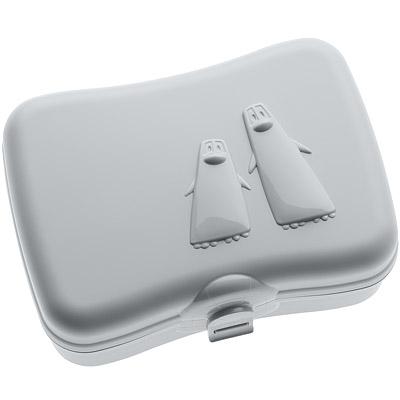 KOZIOL 企鵝午餐盒(岩灰)