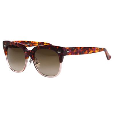 GUCCI- 廣告款 時尚 太陽眼鏡 (琥珀色)