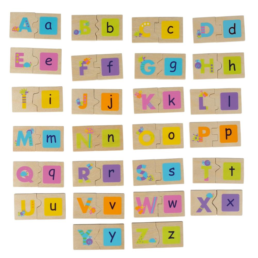 法國Boikido木製玩具-雙面字母配對