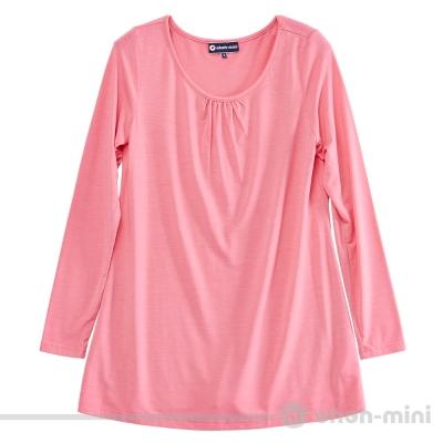【ohoh-mini 孕婦裝】超彈熱力棉基本內搭孕婦上衣(兩色)