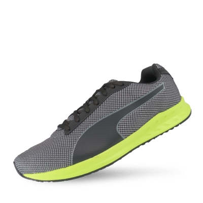 PUMA Burst Mesh 男性慢跑運動鞋-瀝青灰