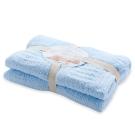 【奇哥】立體格紋柔舒毯 - 小 (4色選擇)