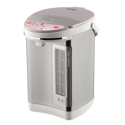 晶工牌4-3LED電動熱水瓶JK-8366