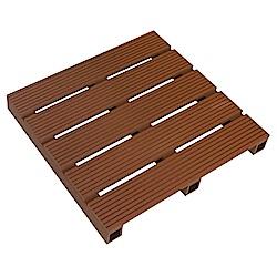 【貝力地板】造景塑木踏板 (45 x 45cm)