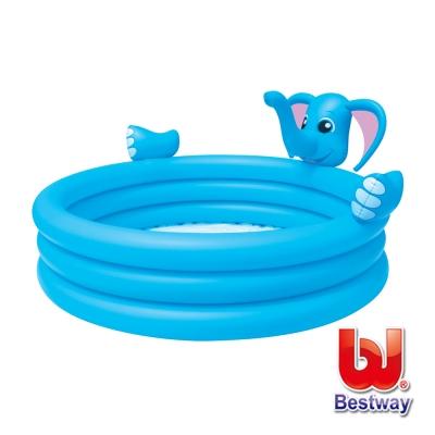 Bestway。大象三環噴水充氣泳池