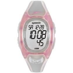 Speedo 悠遊漫步電子腕錶-粉紅/32mm
