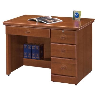 時尚屋 長榮樟木3.5尺書桌 寬105cm