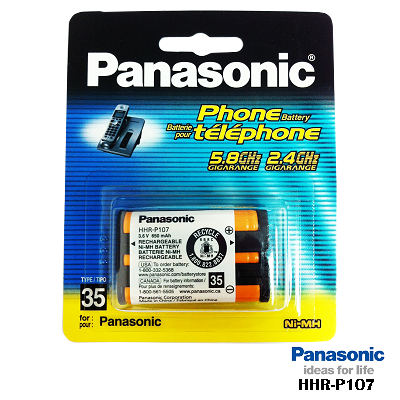 國際牌Panasonic 原廠無線電話電池 HHR-P107