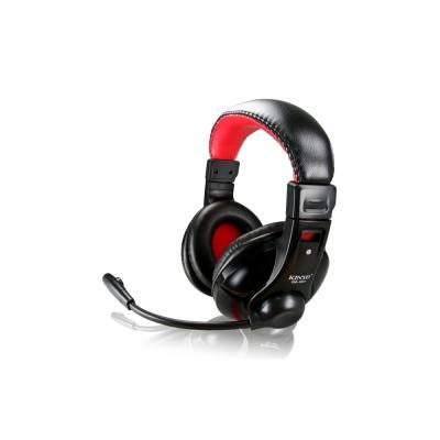 KINYO重低音頭戴式耳麥EM-3651