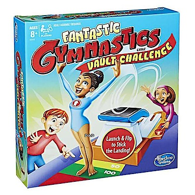 Hasbro game - 瘋狂體操選手馬鞍大挑戰