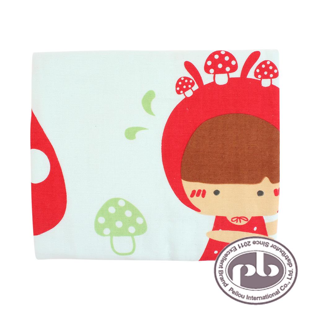 貝柔-小紅帽故事紗布抗菌浴巾(共3色)
