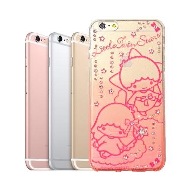 三麗鷗KiKiLaLa雙子星 iPhone 6s plus 5.5吋 水鑽手機殼...