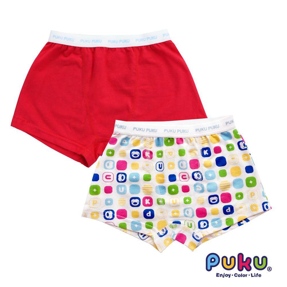 PUKU藍色企鵝 男Magic彈性四角內褲2入(SS~XL)
