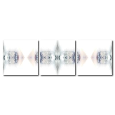 123點點貼- 三聯式無痕創意壁貼 -小蝶結子30*30cm
