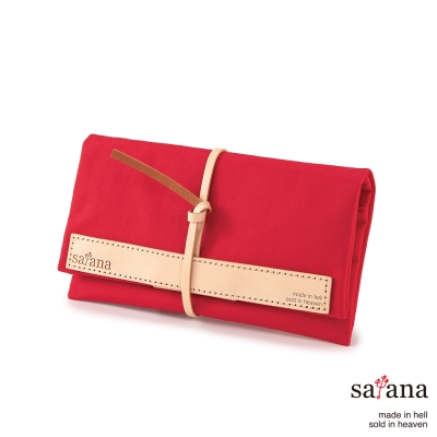 satana - 捲捲收納包 - 紅色